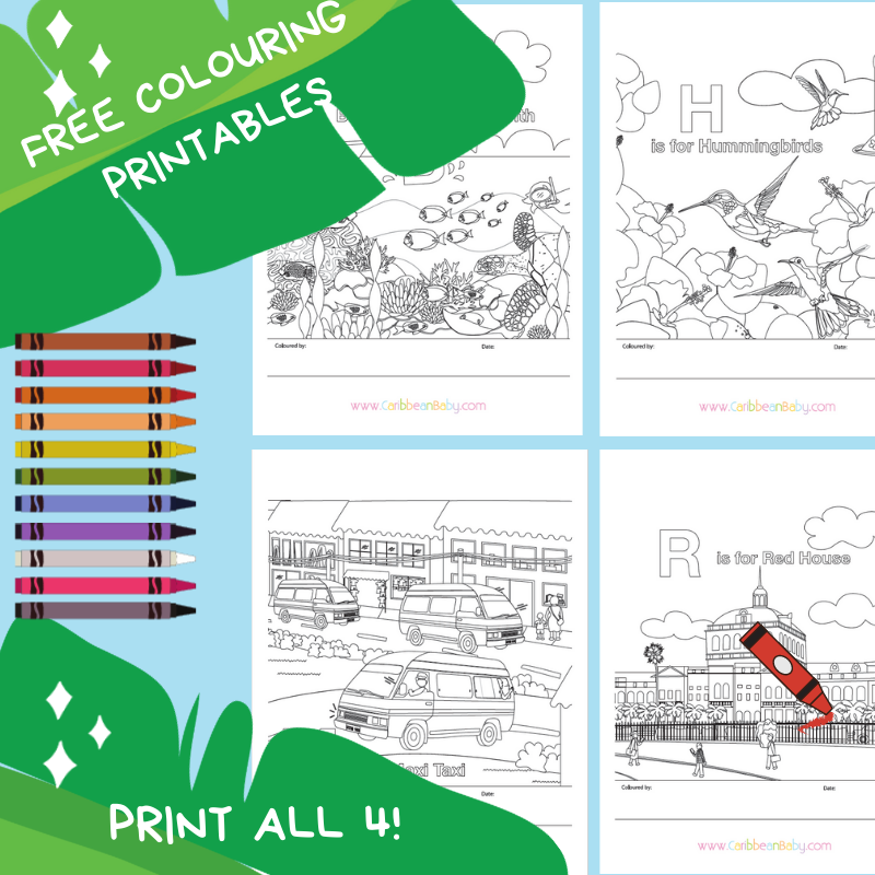 Free Colouring Sheets - ALL